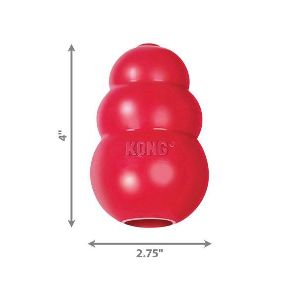KONG CLASSIC HARANG PIROS (L)