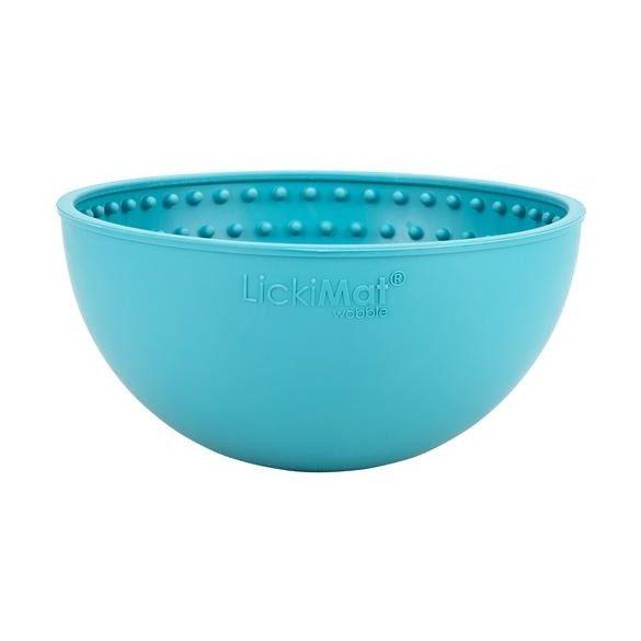 LICKIMAT® WOBBLE™ Turquoise