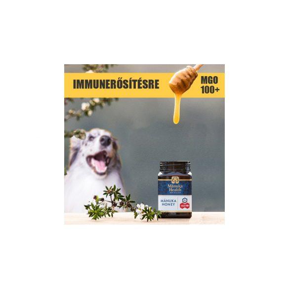 Manuka méz kutyáknak és macskáknak Immunerősítésre 100+ MGO, 50 ml