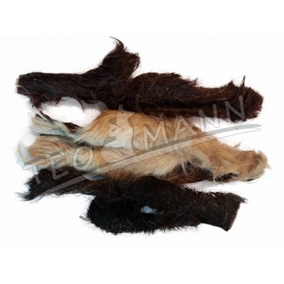 Teomann Szárított Szőrös Bárányfejbőr